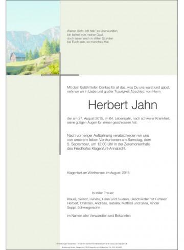 Herbert Jahn