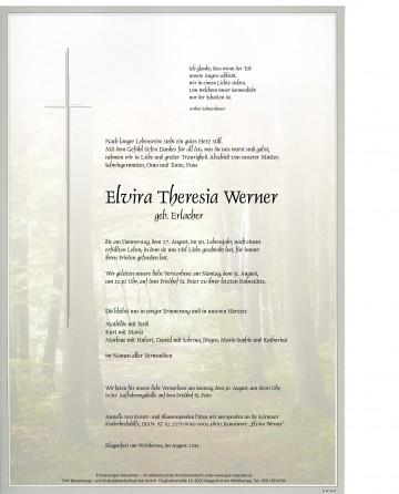 Elvira Theresia Werner