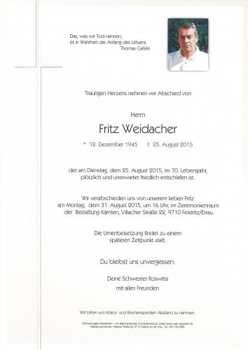 Fritz Weidacher