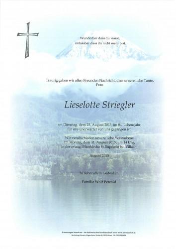 Lieselotte Striegler