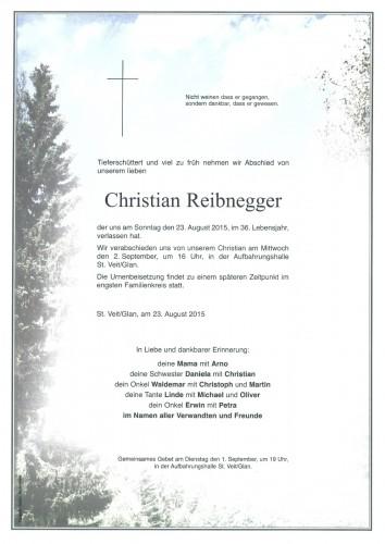 Reibnegger Christian