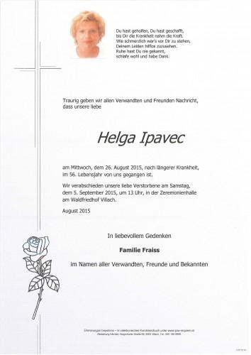 Helga Ipavec