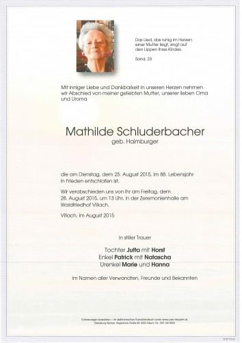Mathilde Schluderbacher