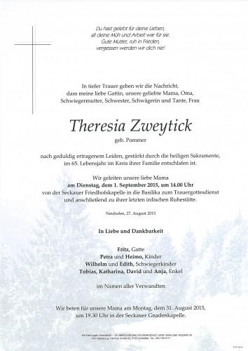 Theresia Zweytick