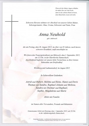 Anna Neuhold