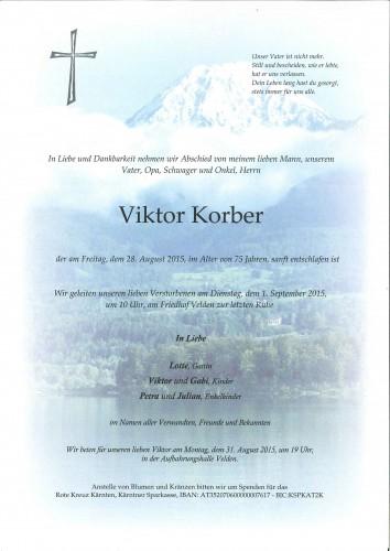 Viktor Korber