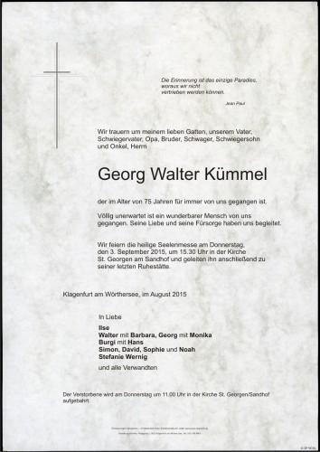 Georg Walter Kümmel
