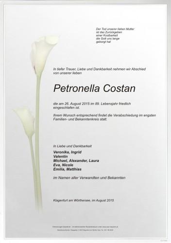 Petronella Costan