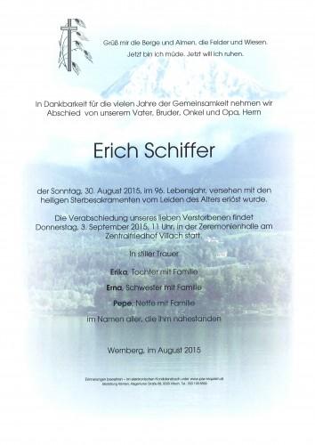 Erich Schiffer