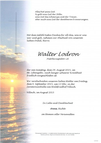 Walter Lodron
