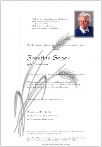 Josefine Seger