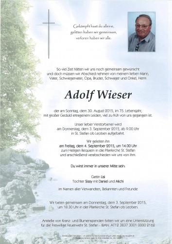 Adolf Wieser