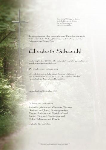 Elisabeth Schaschl