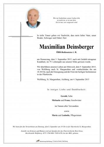 Maximilian Deinsberger