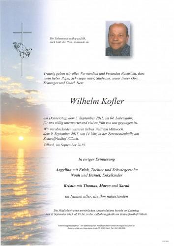 Wilhelm Kofler