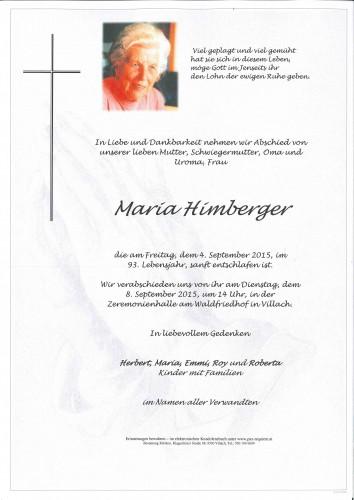 Maria Himberger