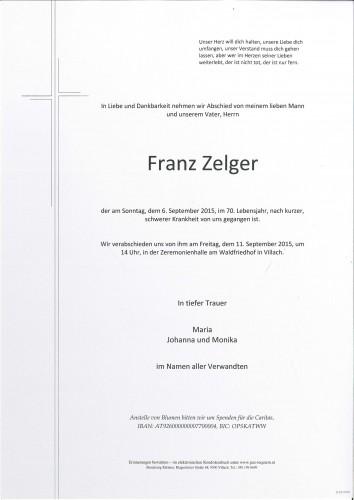 Franz Zelger