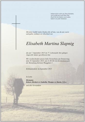 Elisabeth Martina Slapnig