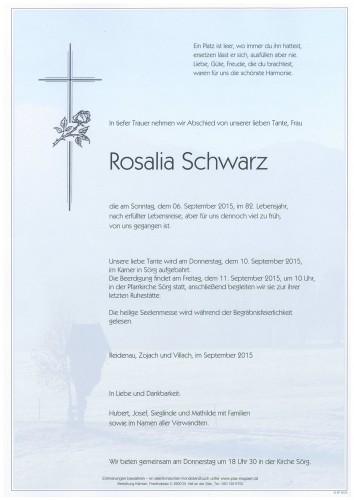 Rosalia Schwarz