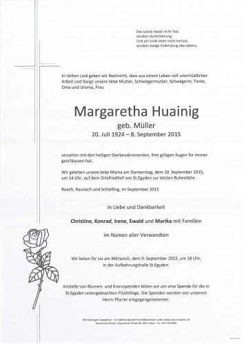 Margaretha Huainig