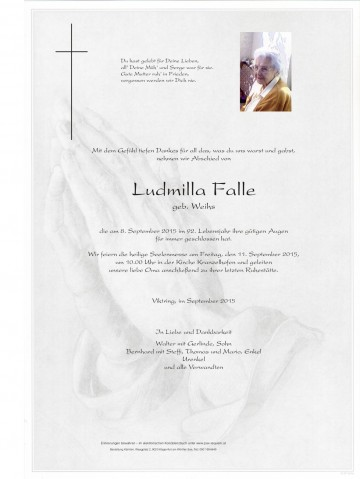 Ludmilla Falle