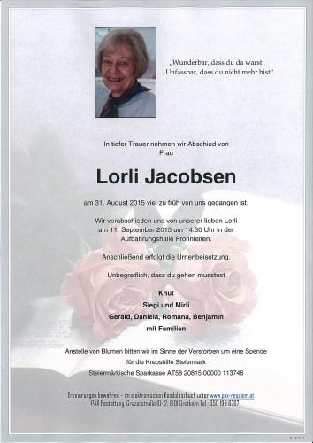 Hannelore Jacobsen