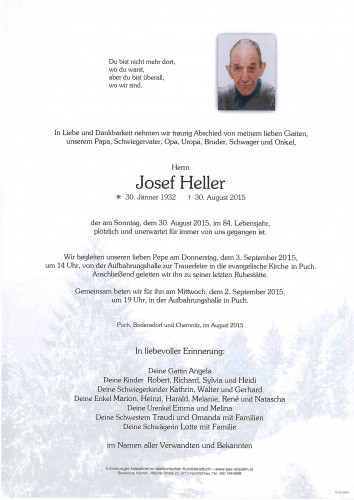 "Josef ""Pepe"" Heller"
