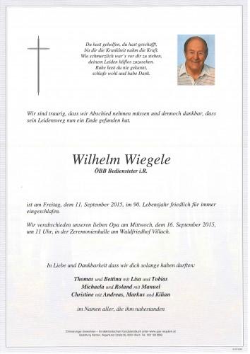 Wilhelm Wiegele