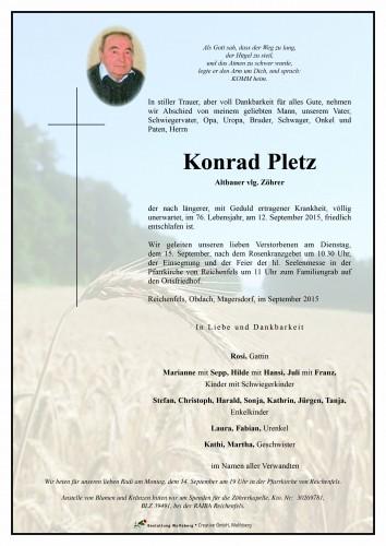 Konrad Pletz