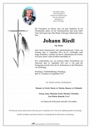 Johann Riedl