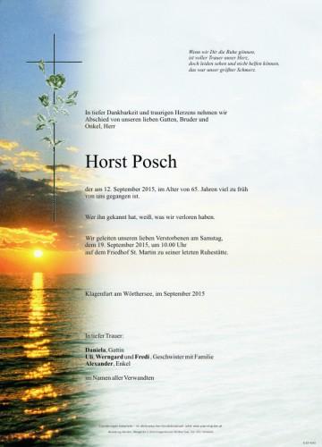 Horst Posch