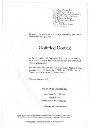 Gottfried Doujak