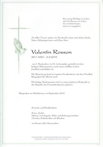 Valentin Rosson