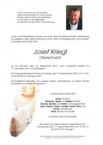 Josef Kriegl