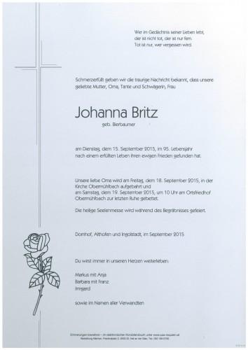 Johanna Britz