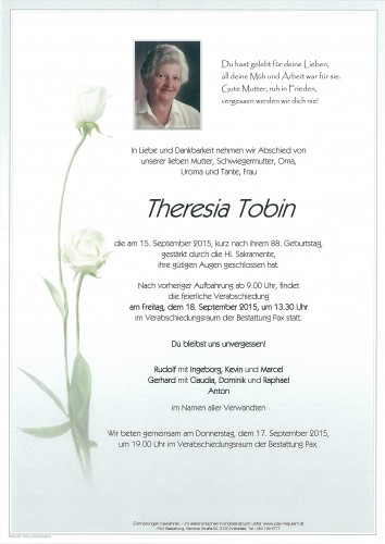 Theresia Tobin