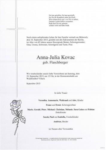 Anna-Julia Kovac