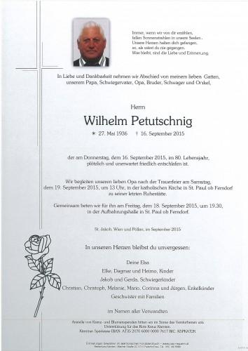 Wilhelm Petutschnig