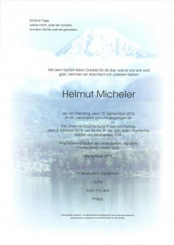 Helmut Micheler