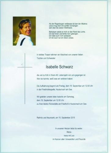 Isabelle  Schwarz