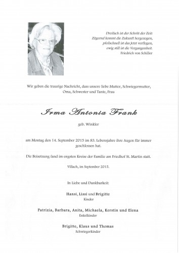 Irma Frank