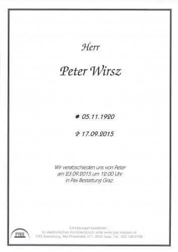 Peter Wirsz