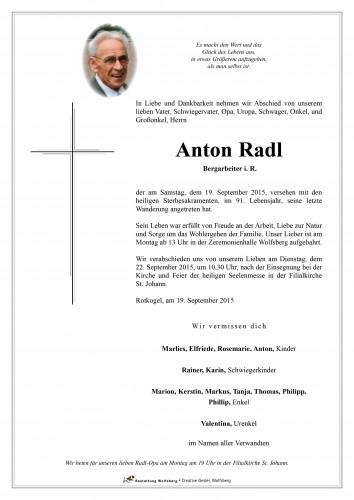 Anton Radl