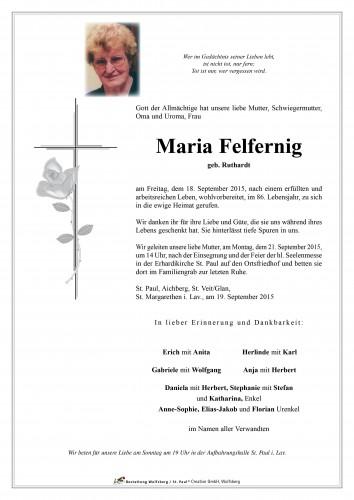 Maria Felfernig