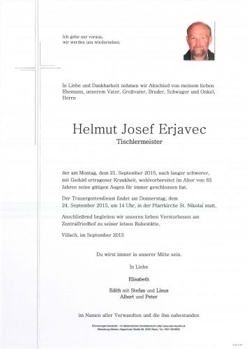 Helmut Josef Erjavec - Tischlermeister