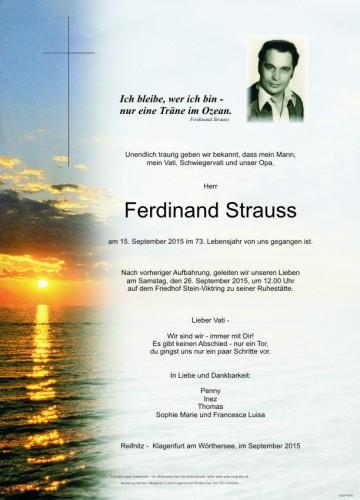 Ferdinand Strauss