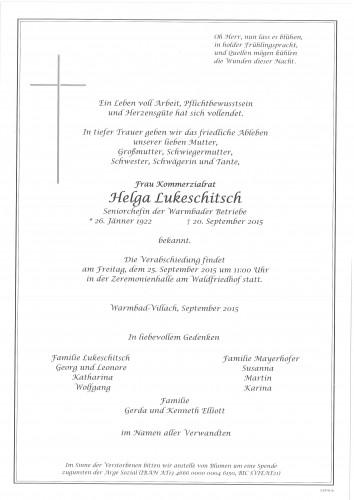 Helga Lukeschitsch