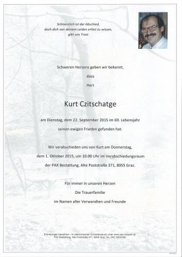 Kurt Czitschatge