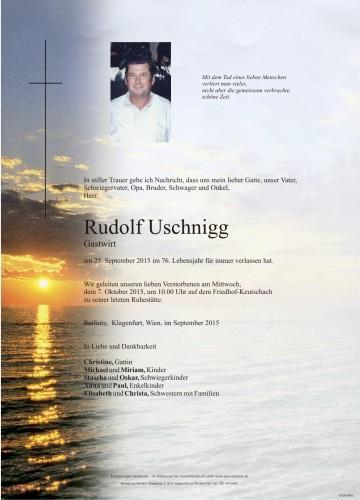 Rudolf Uschnigg