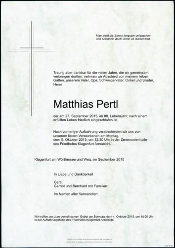 Matthias Pertl